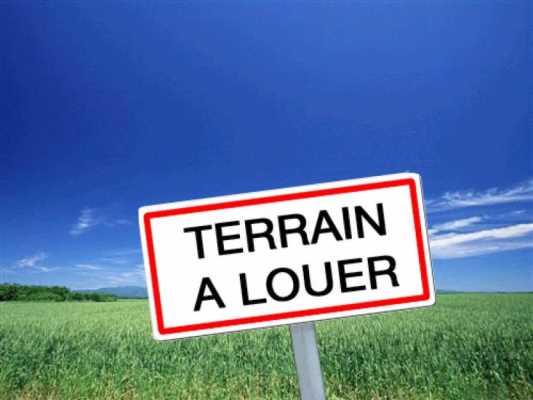 TERRAIN A LOUER VISIBLE ROUTE DE PARIS, FENOUILLET