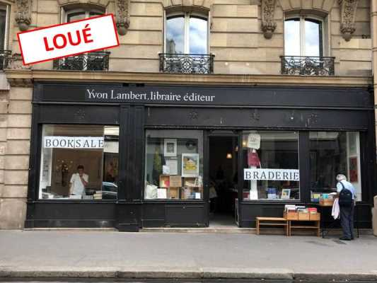 180m² de Boutique à Louer à PARIS 75003
