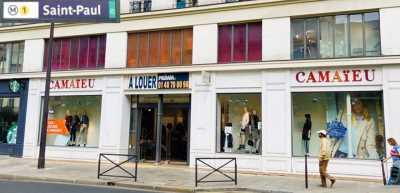 377m² de Boutique à Louer à PARIS 75004