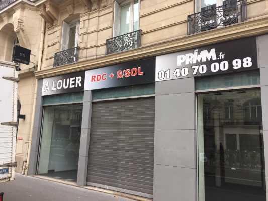 Boutique à Louer PARIS 75007