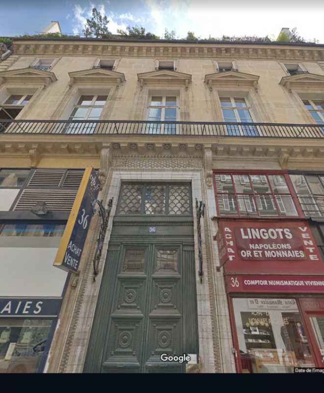 Photo du bien :  à Louer Bureaux 75002 PARIS offre 804778