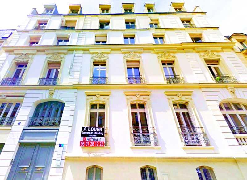 Bureaux de 385 m² À louer à Paris 17e Arrondissement