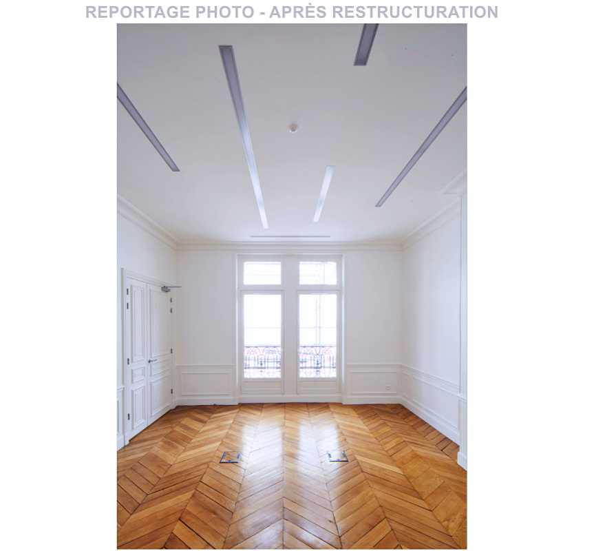 Bureaux de 1022 m² À louer à Paris 16e Arrondissement