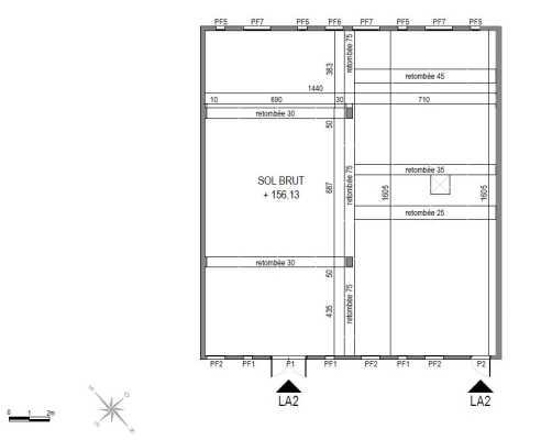 A LOUER LOCAUX COMMERCIAUX 230 M² DIVISIBLES BALMA VIDAILHAN